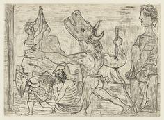 Picasso Minotaur Series | september minotaur aveugle guid minotaure aveugleblind…