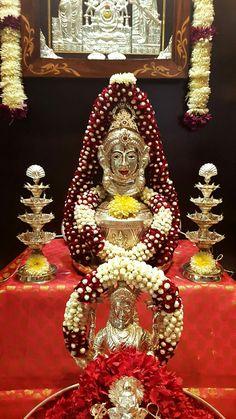 Today lakshmi pooja Diwali Decorations At Home, Wedding Stage Decorations, Backdrop Decorations, Festival Decorations, Flower Decorations, Rangoli Patterns, Rangoli Border Designs, Ganpati Decoration Design, Diwali Wallpaper