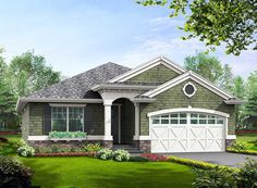 Simple Craftsman Ranch with Options - 23260JD | 1st Floor Master Suite, CAD Available, Craftsman, PDF, Ranch | Architectural Designs