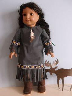18 Inch AMERICAN GIRL DOLL Native American Kaya by ProjectFunway, $14.99