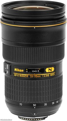 Nikon AF-S 24-70mm f/2.8 G ED  Ideal Uses: Perfect for use as your only lens.