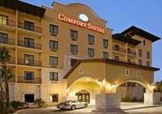 Comfort Suites Alamo, San Antonio, TX. This is a brand new luxury boutique-style hotel has captured the Old World Spanish charm that San Antonio is renowned for.