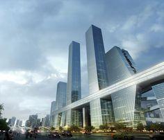 Shenzhen Bay Super City - Xtremendous by UNIT Urban New Idea Team