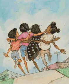 Black girl art - african american art black art hand embroidery frends cross stitch pattern printable black g Art Black Love, Black Girl Art, Art Girl, Black Girls, Black Men, Natural Hair Art, Black Art Pictures, Arte Sketchbook, Black Artwork