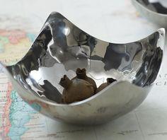 Fair Trade metal bowl