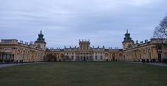 The Magnificent Palace: Wilanowski Royal Palace was built under the order of Jan III Sobieski the great who successfully defeated the Ottoman under Sultan Mehmed IV during battle of Vienna in 1683 AD. Battle Of Vienna, Royal Palace, Warsaw, Poland, Ottoman, Louvre, Architecture, Building, Travel