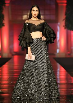 Collection Details Manish Malhotra Source by kavishaj Wedding Dresses For Girls, Indian Wedding Outfits, Party Wear Dresses, Indian Outfits, Stylish Dress Designs, Stylish Dresses, Fashion Dresses, Indian Designer Outfits, Designer Dresses