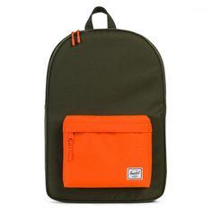 Herschel Supply Co. Green / Orange Classic Backpack
