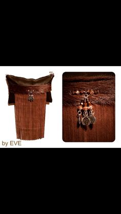 Handmade leather clutch  By EVE