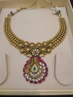 Handcrafted with rubies,pearls and kundan details jmb.jewels@hotmail.com