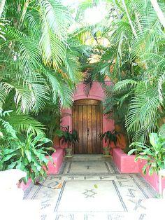 Las Alamandas resort between Puerto Vallarta and Manzanillo, Mexico