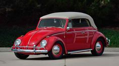 For sale at Mecum Auctions, Monterey, California, U.S.A. A 1964 VW Beetle…