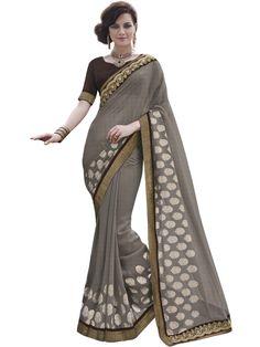 http://Fashions Grey Colored Georgette Designer Saree #mozzafiate #indiansaree #bridalwear #lehenga #indianwear #indianbride #indianfashion #bridal #indiawedding #indiandesigner #desifashion #desiwedding ##salwarsuit #salwarkameez #trends #ethnics #bride #womenwear #weddingwear #clothing #india #shopping #onineshop #anarkali #anarkalisuit #fashionista #traditional #saree #trendy #bridallehenga #partywearsalwarsuit #printedsalwarsuit #printedsaree #partywearsaree #designersaree