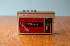 Vintage Sony Walkman WM-F10