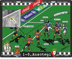Real Sociedad, 1 - CA Osasuna, 0 - Ansotegi