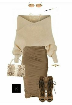 Neutral Colors #Type2 #DressYourEssence