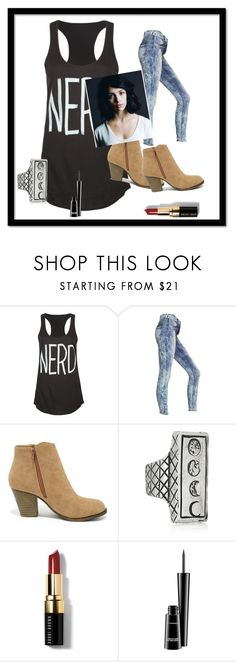 """""""Week 2 - Getting the Digits"""" by magmababe141 ❤ liked on Polyvore featuring Matix, Express, Liliana, Pamela Love, Bobbi Brown Cosmetics and MAC Cosmetics"""