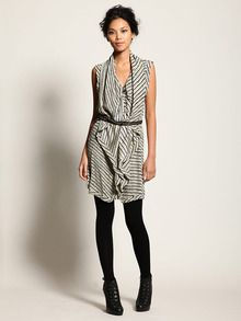 silk double layered sleeveless dress by Thakoon