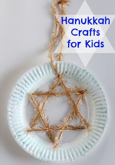 Hanukkah is just days away beginning on the evening of December this year. So for our Letter H in our Holiday ABC series, we're making something fun for Hanukkah: Paper Plate Star of David. This is a great craft. Hanukkah For Kids, Hanukkah Crafts, Feliz Hanukkah, How To Celebrate Hanukkah, Hanukkah Decorations, Holiday Crafts For Kids, Hannukah, Happy Hanukkah, Holiday Fun