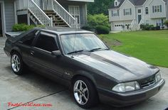 like mine I miss her :( Fox Body Mustang, Mustang Cobra, Ford Mustang, My Dream Car, Dream Cars, Mustang Hatchback, Ford Fox, Bee Hives, Old School Cars