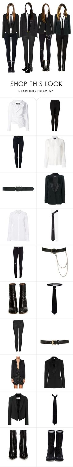 """Why you tryna flex and your fashion off?  Chain around my neck and her ass soft"" by mybunnybooty ❤ liked on Polyvore featuring Jacquemus, Topshop, STELLA McCARTNEY, Vanessa Seward, M&Co, Tom Ford, A.L.C., Alexander McQueen, Closed and Wet Seal"
