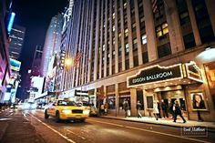 Our iconic entrance truly makes #EdisonBallroom a beacon of light in #TimesSquare #NYC