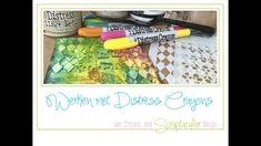 Filmpje over spelen met Distress Crayons