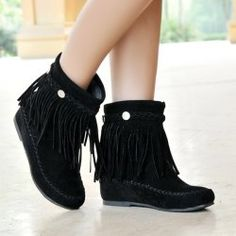 SHARE & Get it FREE   Flat Heel Suede Braid Fringe Short BootsFor Fashion Lovers only:80,000+ Items • New Arrivals Daily • Affordable Casual to Chic for Every Occasion Join Sammydress: Get YOUR $50 NOW!