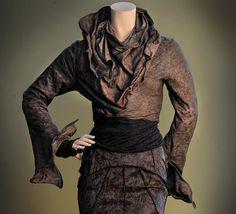 Women's Jacket Short Bolero Sculpting Wired Wrap by RebeccaBruce