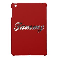 Houndstooth Print Name Tammy iPad Mini Cover