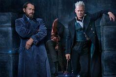 <em>Fantastic Beasts</em> sequel cast photo revealed: See Jude Law as Dumbledore