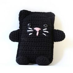 One of our menagerie of amigurumi animals, this darling kitten is sure to be a favorite. (Lion Brand Yarn)
