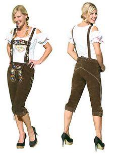 Look Jessi - women's lederhosen (what's Andrea wearing again)?