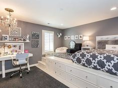 Gorgeous Gray And White Bedrooms Pinterest Bedrooms