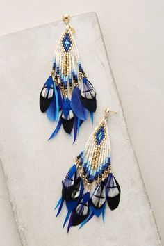 Gas Bijoux Quetzal Beaded Earrings