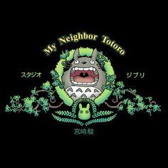 """Forest Spirit Studios"" by Andrew Kwan Totoro in the style of the MGM logo Hayao Miyazaki, Studio Ghibli Films, Art Studio Ghibli, Manga Anime, Anime Art, Castle In The Sky, Howls Moving Castle, My Neighbor Totoro, Animation"