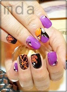 Halloween Fun#nail #nails #nailart