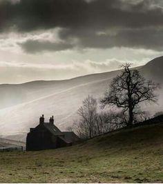 cottage in the Scottish Highlands