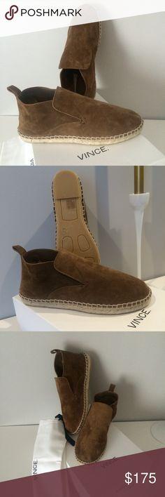 VINCE Ronan Slip-On Mid Espadrille VINCE Ronan Slip-On Mid Espadrille. Size 6. NEW with box & dust back. Vince Shoes