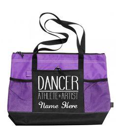 Personalised Ballroom Dancing Holdall Kit Bag Latin Dancers Dance
