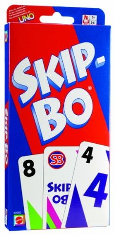 SKIP-BO - Mom and I play together . . . and sometimes she lets me win! :)