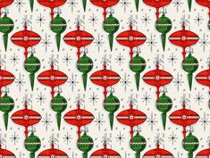 1950s Christmas Wrapping Paper