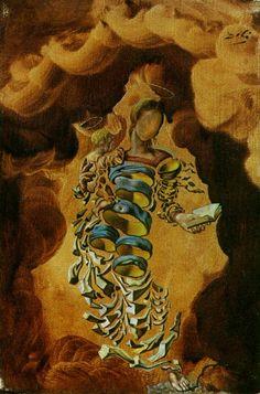 Madonna in Particles ~ Salvador Dali
