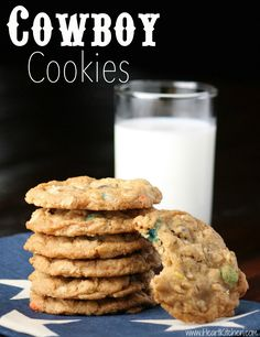 Cowboy Cookies – Crunchy, Chewy & Delicious!