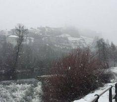 La nieve vuelve a Sanabria con fuertes vientos en toda la provincia