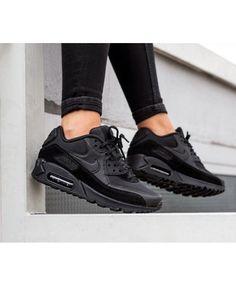 the latest c0ce0 e50f8 Tendance Chaussures 2017  2018   Description Nike Air Max 90 Femme  Chaussures Noir