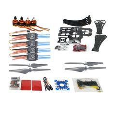 67.61$  Watch here - http://alih24.worldwells.pw/go.php?t=32769436220 - DIY RC Drone Quadrocopter X4M360L Frame Kit QQ Super Flight Control F14892-E