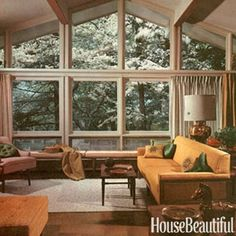 While Betty Draper was busy being a house wife in her Ossining, NY, home, House Beautiful was featur