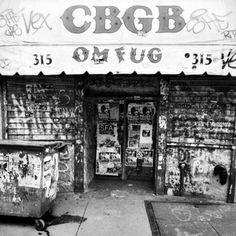 CBGB. Never did get to go...