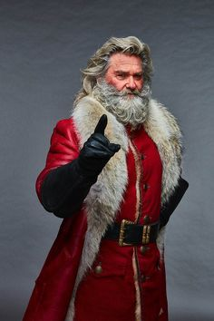 Kurt Russell on family, Hollywood and playing Father Christmas Kurt Russell as Santa in The Christmas Chronicles. 'When the grandkids see some of the stuff that we do in this movie, they are going to flip. It will be great night out'